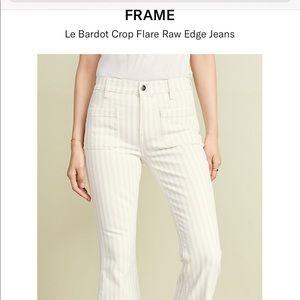 FRAME Bardot Crop Flare